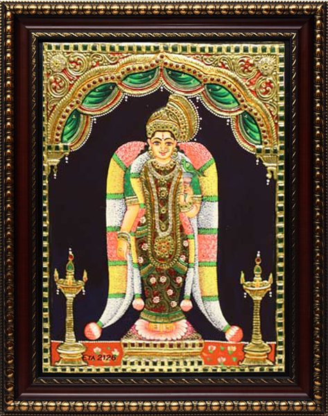 Andal Tanjore Tanjore Painting