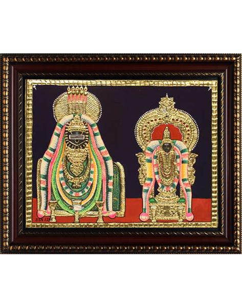 Annamalai Unnamalai Tanjore Painting
