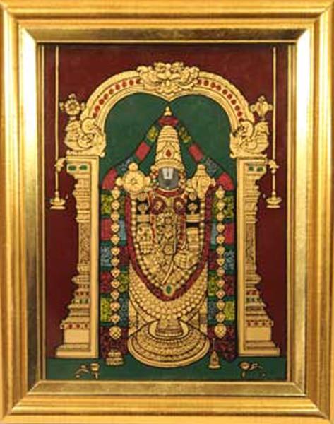 Balaji Glass Tanjore Painting