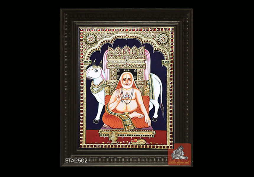 Buy Shri Ragavendhra Custom Made Tanjore Paintings Online