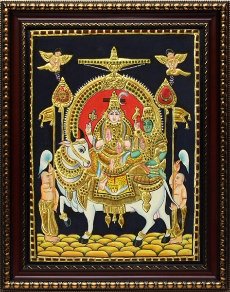 Siva Tanjore Painting