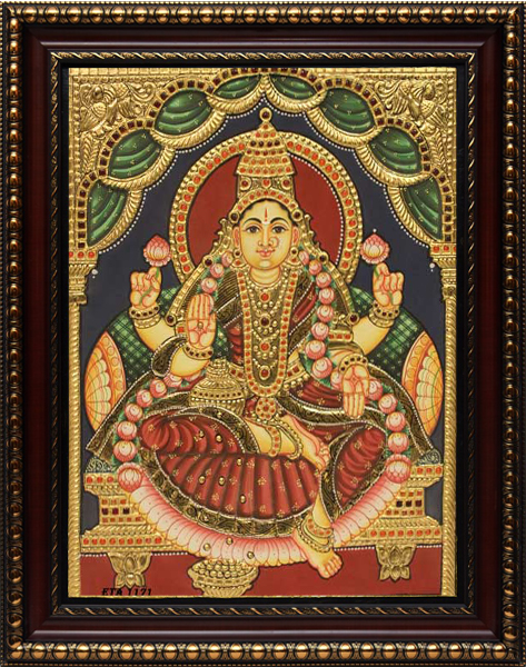 Antique Lakshmi Tanjore Painting