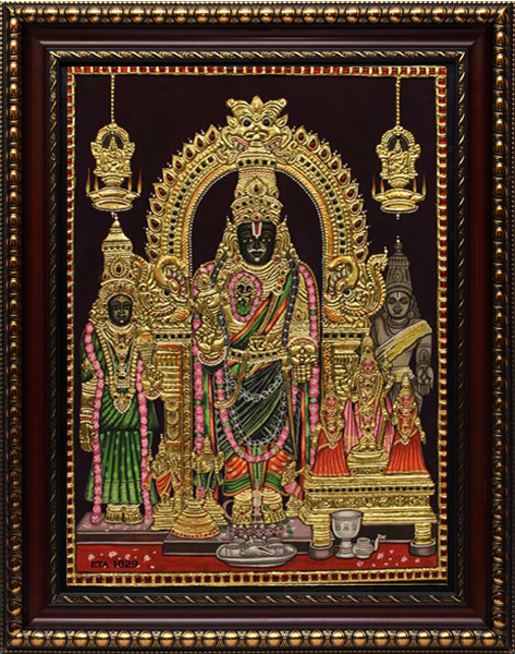 Parthasarathy Tanjore Painting