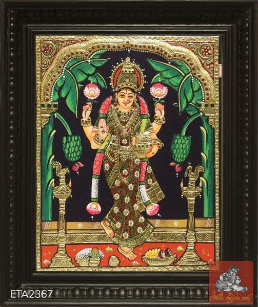 Gruha Lakshmi Tanjore Painting
