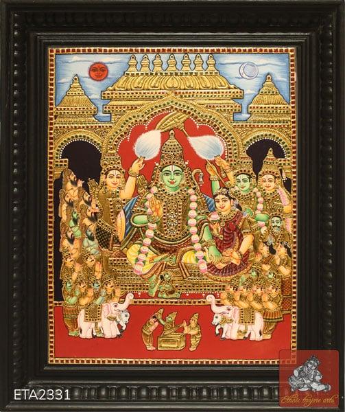 Ramar Pattabishakam Tanjore Painting