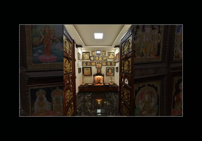 Best Pooja Room Tanjore Painting Online