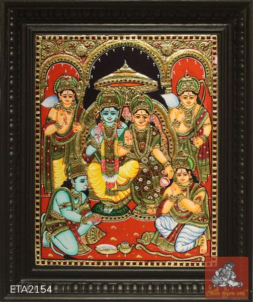 Ramar Tanjore Painting