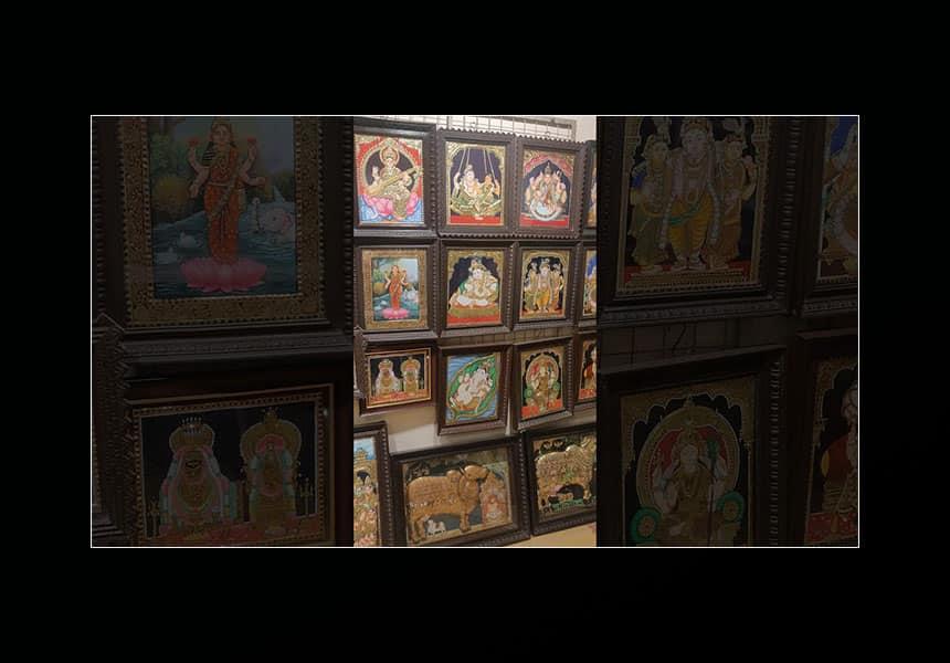 Tanjore Painting Unique Features