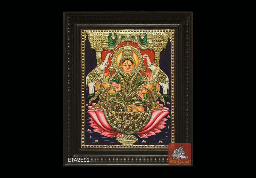 Best Selling Goddess Lakshmi Tanjore Painting Online