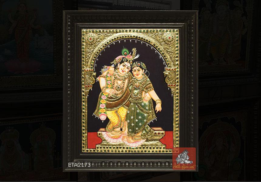 Best Selling Radha Krishna Tanjore Paintings