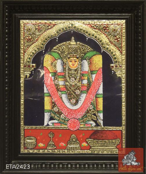 Goddess Kanaka Durga Tanjore Painting