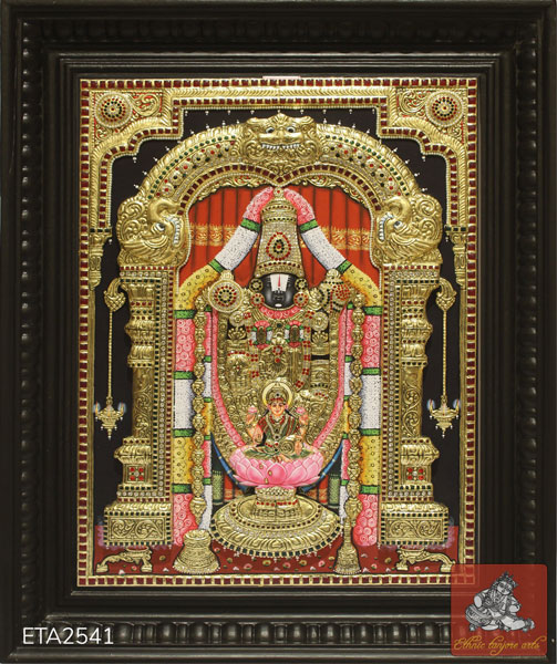 Lakshmi Balaji Tanjore Painting