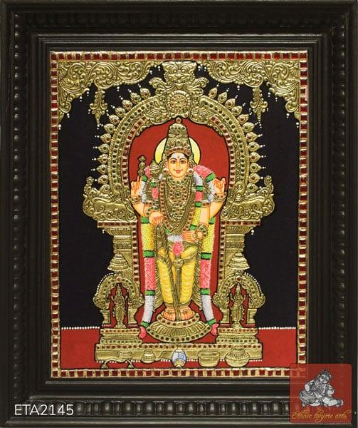 Murugan Swamimalai Tanjore Painting